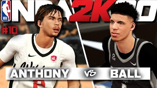 NBA 2K20 | LaMelo Ball and Cole Anthony Face Off | NEW STATEMENT EDITION JERSEYS