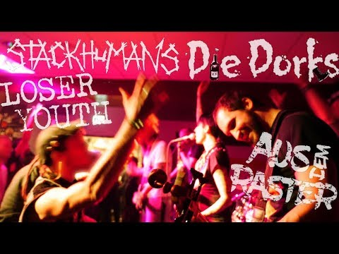 Die Dorks(+Interview), Stackhumans, Loser Youth &aus dem Raster live in den Fanräumen