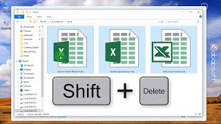 Excel File Recovery - How to Recover Permanently Deleted or Erased Excel Files?