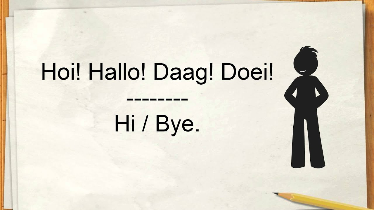 Learn dutch how to say good morning thank you in dutch youtube kristyandbryce Gallery