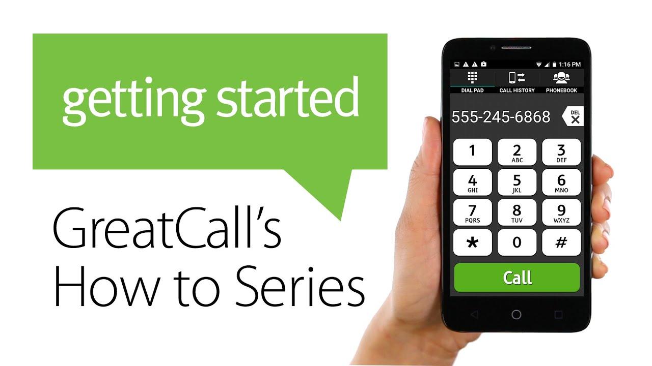 How to Make a Phone Call - Jitterbug Smart - YouTube