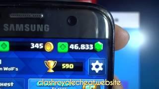 Clash Royale April Hack 2017 Clash Royale Gem Hack IOS+Android
