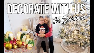 DECORATE WITH US FOR CHRISTMAS 2018 | CHRISTMAS DECOR IDEAS AND INSPIRATION