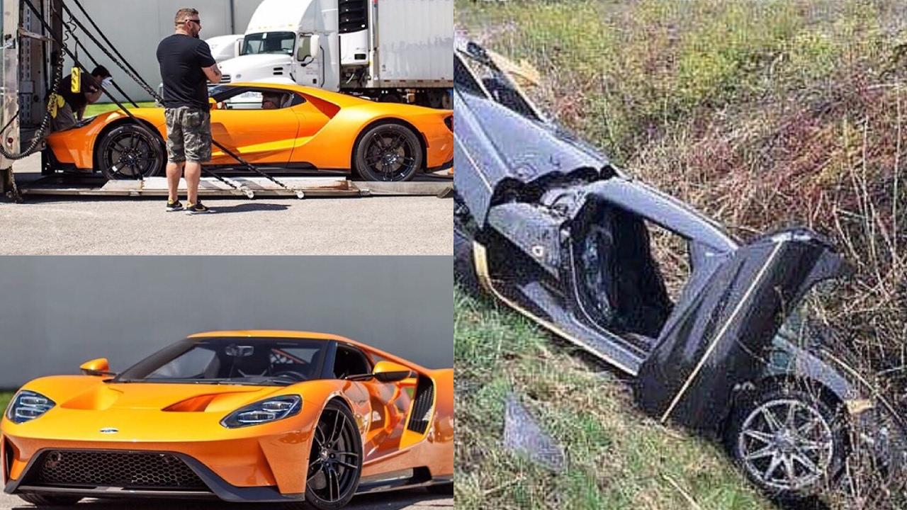 Koenigsegg Crashed Many Khoshbins Agera Andy Frisellas Ford Gt Painted In Lamborghini Orange