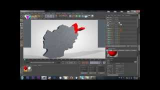 TUTORIAL 3 - HOW TO MAKE 3D AFGHANISTAN MAP