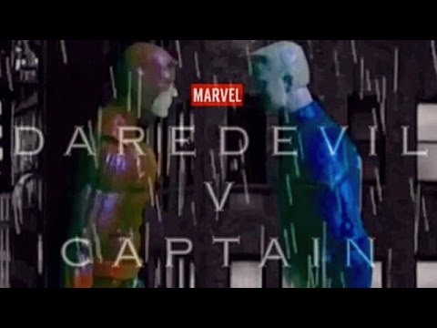 DAREDEVIL V CAP : A Stop Motion Short Film (Read Description)