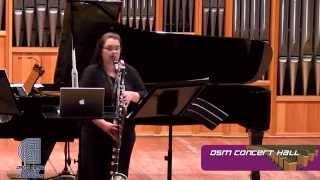 OSM CONCERT HALL Clarinetist Danré Strydom ,Ecout, ecoute ! by Roderik De Man