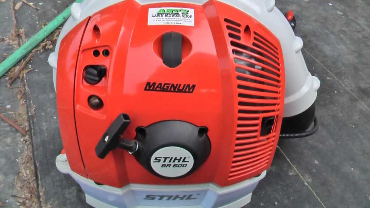 Stihl backpack blower coupons