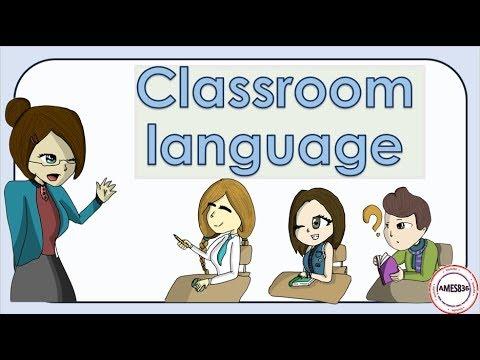 Classroom Language new