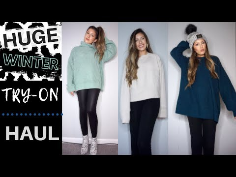 HUGE TRY-ON WINTER CLOTHING HAUL