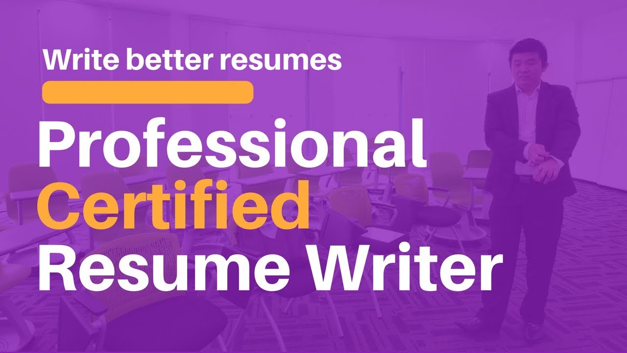 Certified Professional Resume Writing Service Youtube
