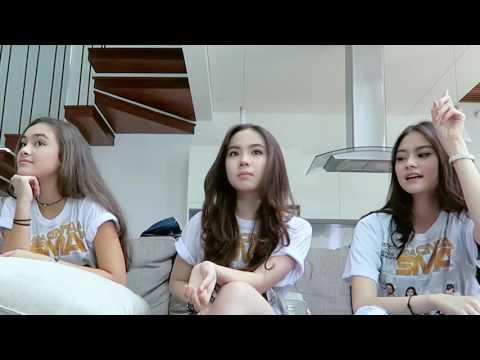 MAIN WEREWOLF feat  Cast Ada Cinta di SMA   Game 1