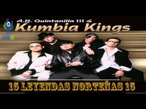 15 Leyendas de LOS KUMBIA KINGS (MIX de Éxitos de la LEYENDA NORTEÑA)