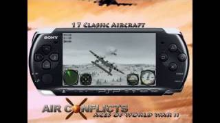 Air Conflicts: Aces of World War II Sony PSP Trailer -