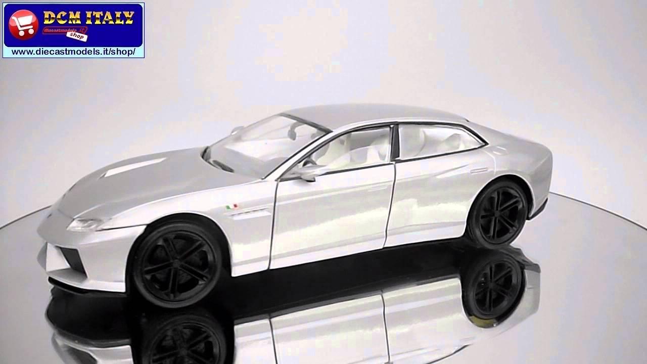 Nice Motormax Lamborghini Estoque 2009 Gray HD