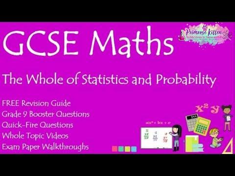 Blue pen tutorials: Stats controlled assessment 2014/2015