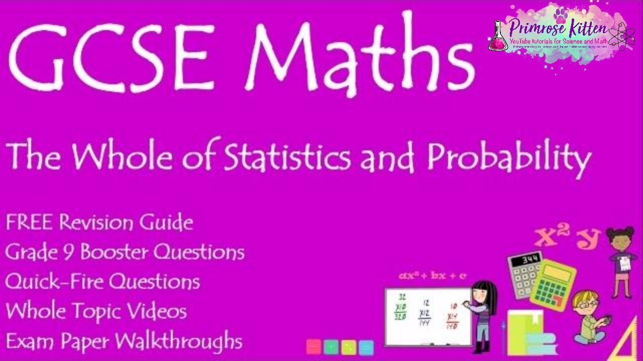 The whole of Statistics and Probability in only 22 minutes !! GCSE 9-1  Maths Revision