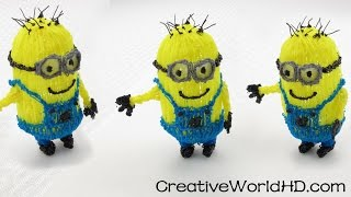 How to make Despicable Me 3D Minions - 3D Printing Pen DIY Tutorial/Scribbler