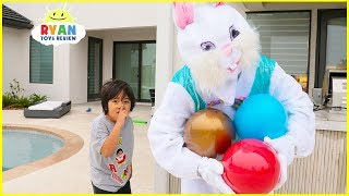 Easter Egg Hunt Surprise Toys Challenge for Kids Pretend Play with Ryan!!!