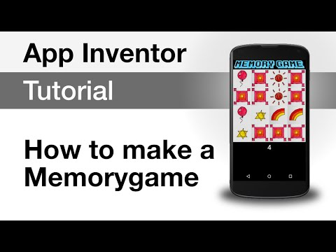 App Inventor 2 Tutorial: Memorygame for your Android device