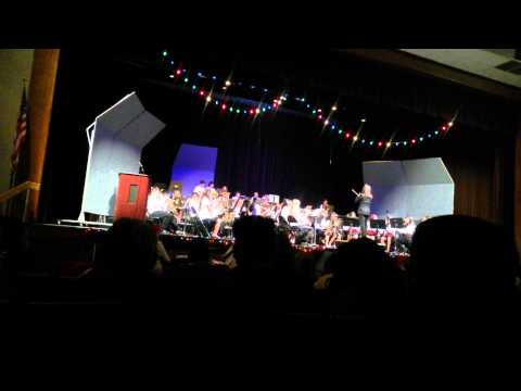 Navelencia middle school band in Reedley c.a