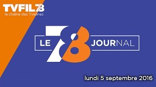 7/8 Le journal – lundi 5 septembre 2016