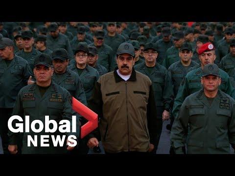 Venezuela's Maduro shows