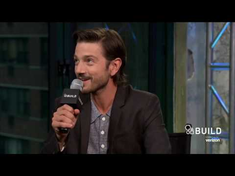 "Diego Luna Talks About ""Rouge One: A Star Wars Story"""