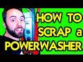 HOW TO SCRARP AN ELECTRIC POWER WASHER : Taking Stuff Apart
