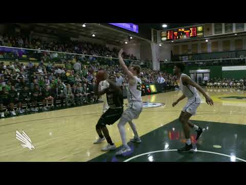North Texas Basketball: NT vs U of San Francisco CBI Finals GM1 NT Highlights 03/27/18