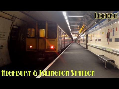 London Highbury & Islington Station | Northern City Line ( British Rail Class 313 )