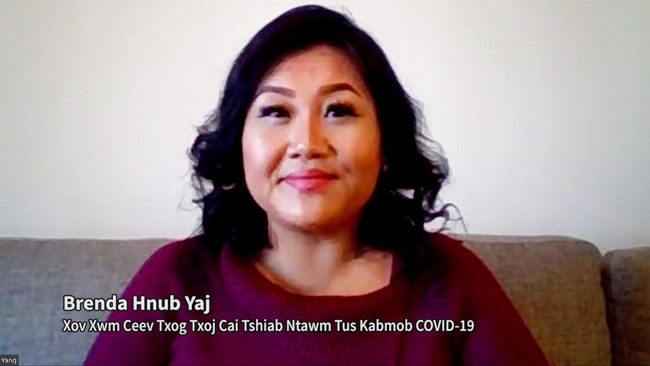 Xov Xwm Ceev Txog Txoj Cai Tshiab Ntawm Tus Kabmob COVID-19 (Emergency Order #10 from Public Health), Brenda Hnub Yaj