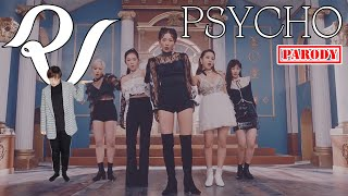 【KY】Red Velvet(레드벨벳) - Psycho DANCE COVER(Parody ver.) #WendyGetWellSoon 😭💙