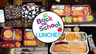 It's BACK!  Back to School Lunch Ideas + What They Ate! Real Easy.