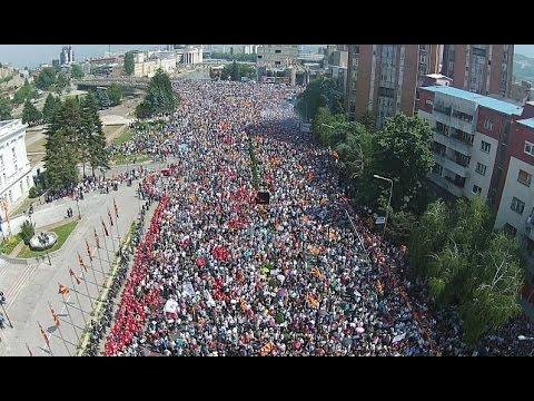 Историски протест: Над 100.000 граѓани побараа оставка од ...