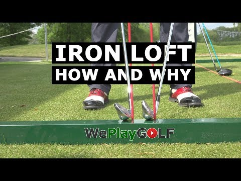 Golf tip: Control the loft of your IRONS - This is why you can PUNCH DOWN onto the golf ball