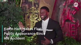 Kevin Hart Makes First Public Appearance Since His Accident