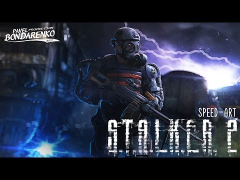 S.T.A.L.K.E.R 2    Арт-обработка   Photoshop By Pavel Bondarenko