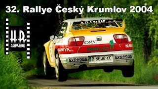 32. Rallye Český Krumlov 2004 - H.R.rallystudio