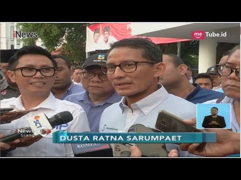 Ratna Sarumpaet Dikeluarkan dari Jurkamnas Prabowo dan Dilaporkan ke Polisi - iNews Siang 04/10