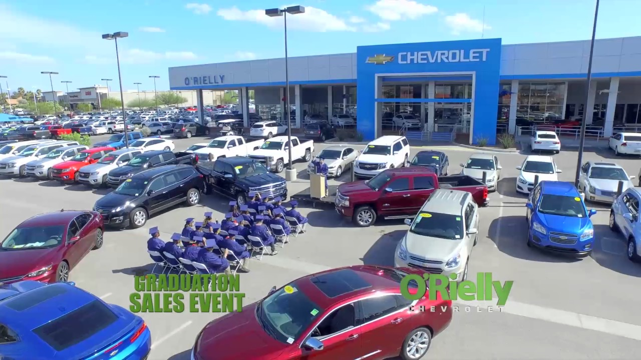 Graduation Sales Event At O Rielly Chevrolet Youtube