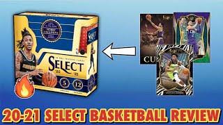 Sweet Pulls! | 2020-21 Panini Select Basketball Hobby Box Review