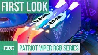 Patriot Viper RGB DDR4 RAM (Deutsch) #Computex2018