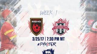 Phoenix FC Wolves vs Toronto FC USL full match