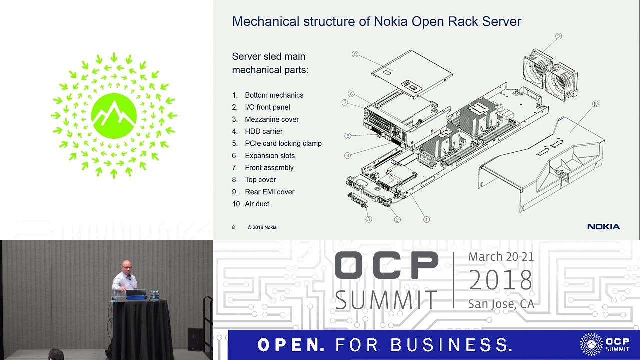 OCPUS18 –Telco NFV Optimized Nokia AirFrame Server - YouTube