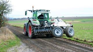Professionelle Aufarbeitung von Forst- und Schotterstraßen mit dem Stehr System