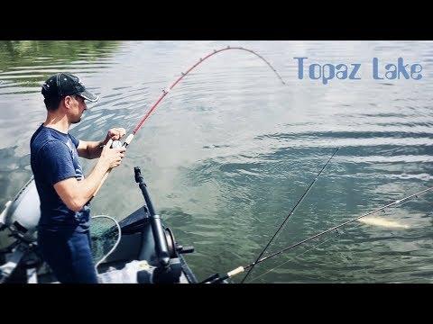 Topaz Lake Trout Fishing 2019
