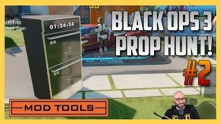 Prop Hunt in Black Ops 3 #2 - NUKETOWN (Call of Duty Mod Tools Minigames Gameplay)