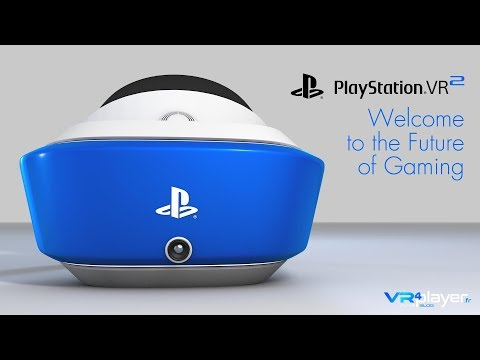 PlayStation VR 2 - PSVR2 : Concept Design, Welcome to the future of Gaming - VR4Player