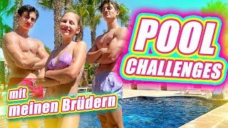 ILIAS WELT - Pool-Challenges (mit meinen Brüdern)